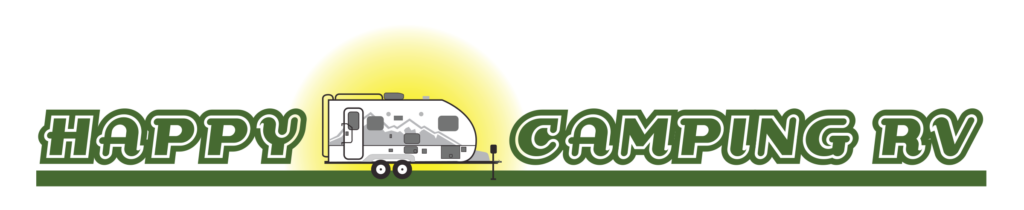 happy camping rv logo