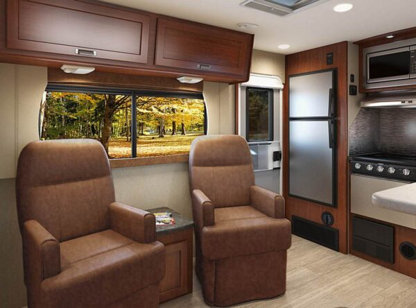 2020 2285 lance travel trailer captains chairs